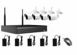 AMIKO WIFI KIT1, kamerový WIFI SET, 4 IP kamery 2MP, NVR 4CH