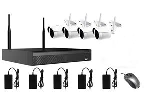 AMIKO WIFI KIT2, kamerový WIFI SET, 4 IP kamery 2MP, NVR 8CH